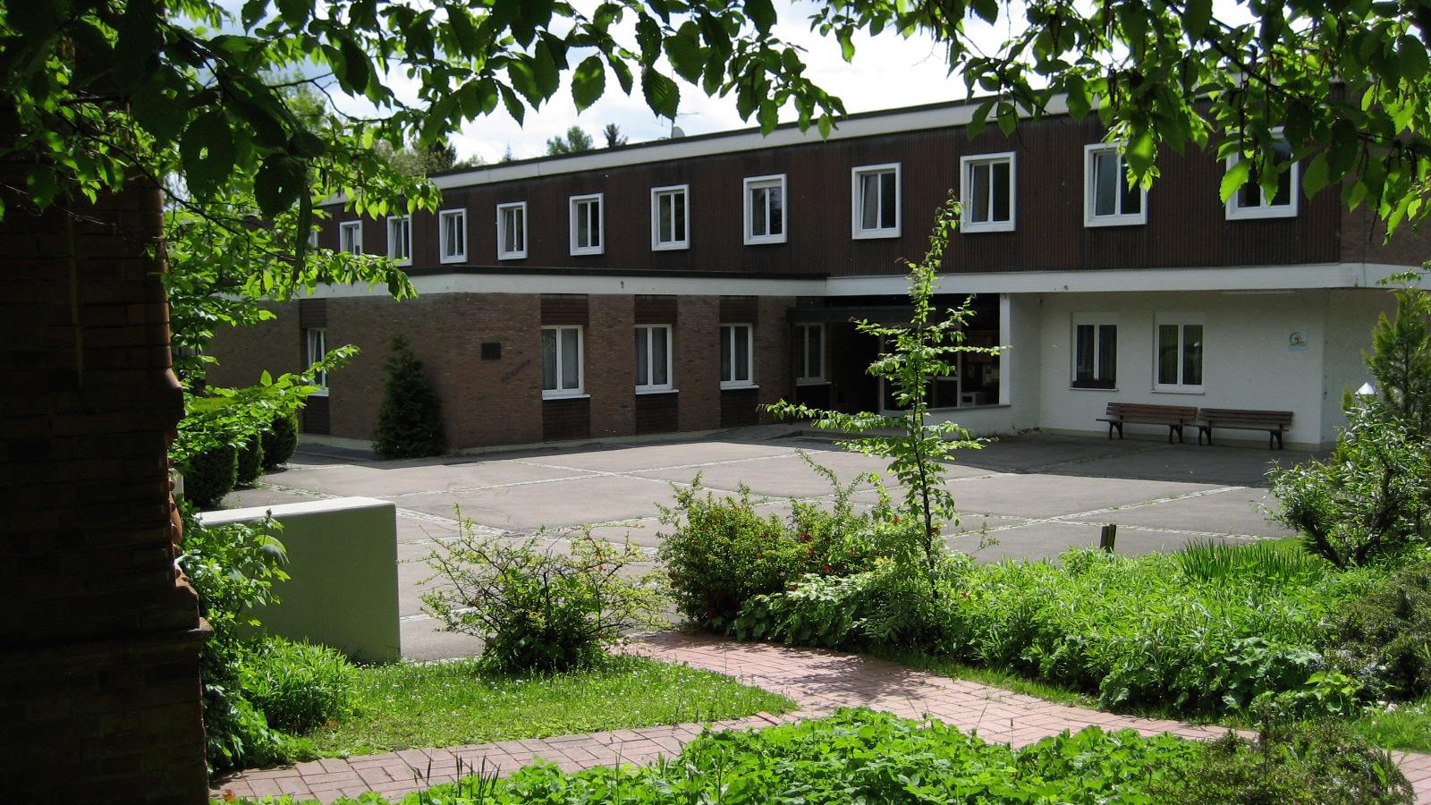 Schullandheim-Dinkelscherben Ansicht von Nord