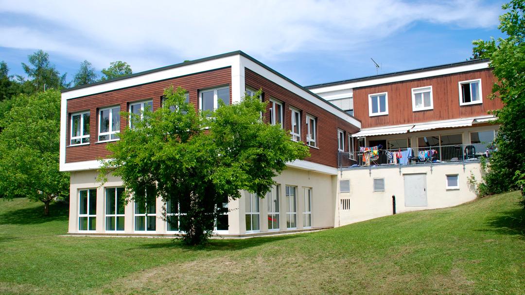 Ansicht des Schullandheims von Süden