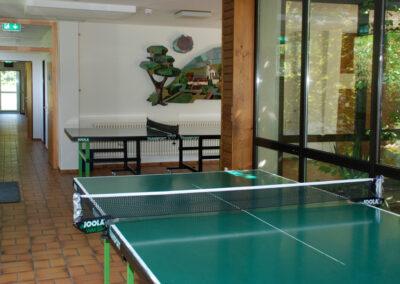 Indoor-Tischtennis