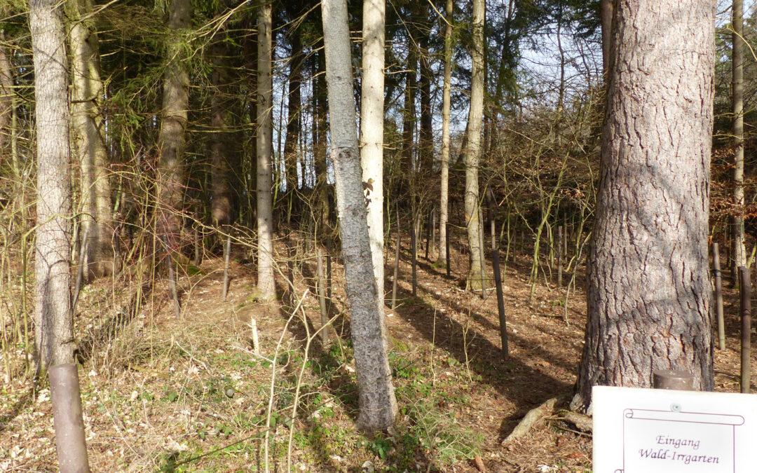 Wald-Irrgarten